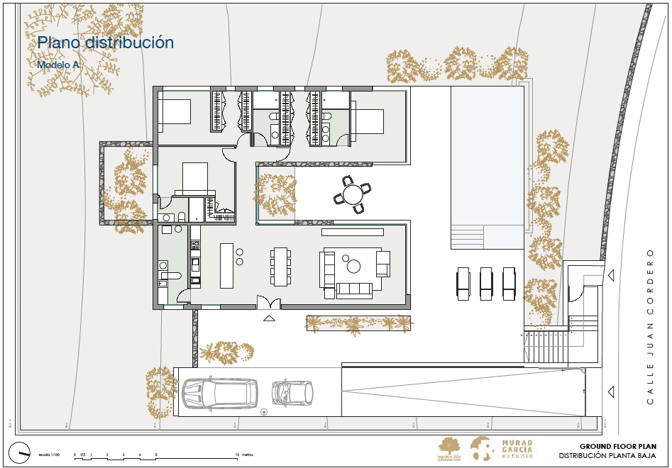 Plans Distribution-luxury homes spain