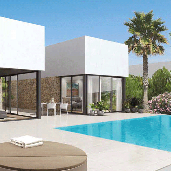 luxury holiday villa in spain-Contour Beautification