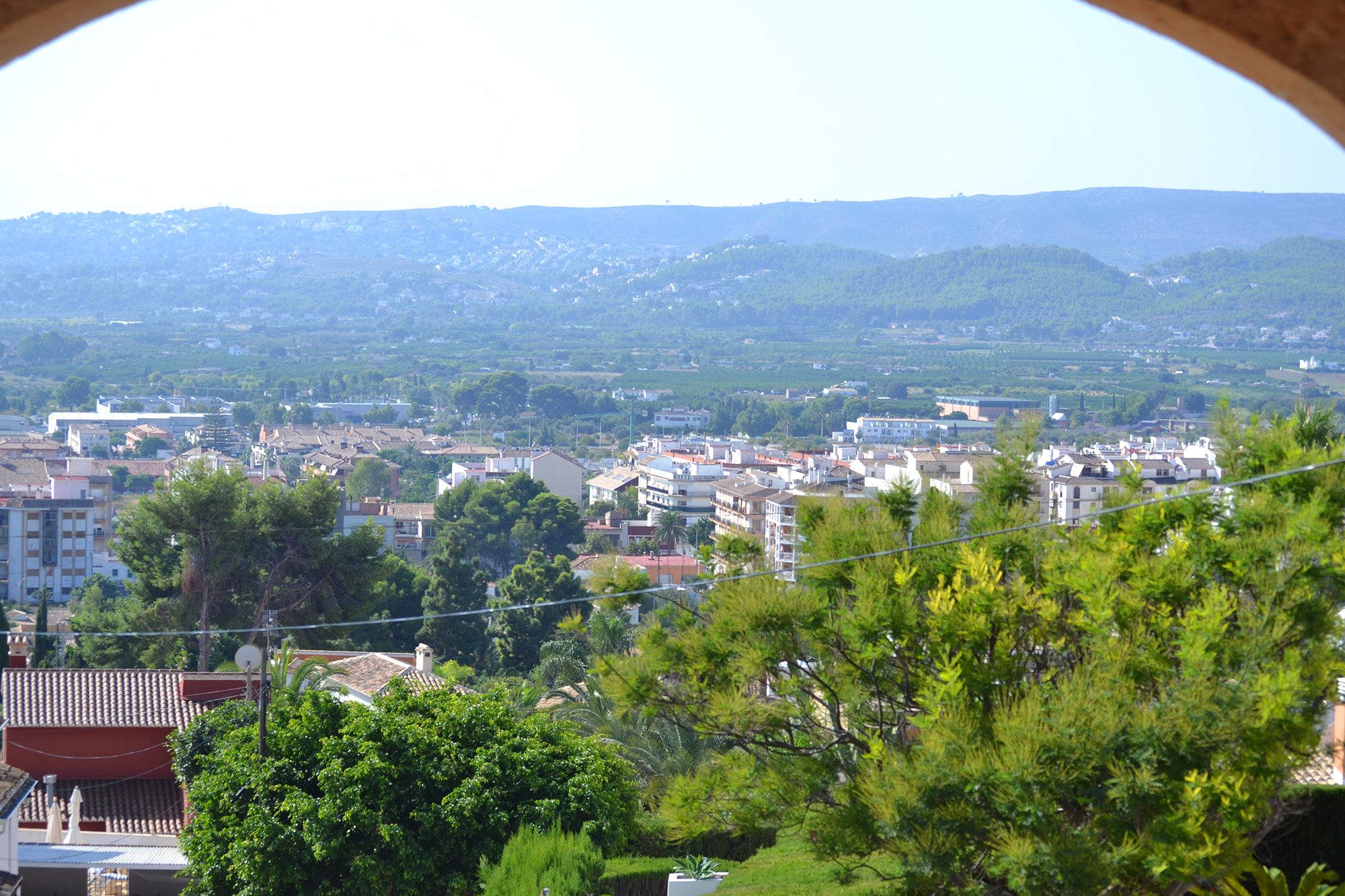 mountain view in javea