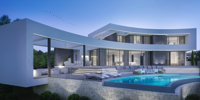 modern build javea
