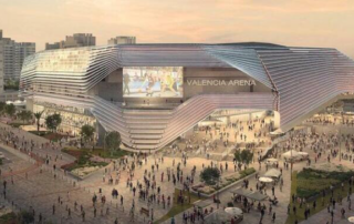 Valencia Arena is a new Arena stadium in Valencia