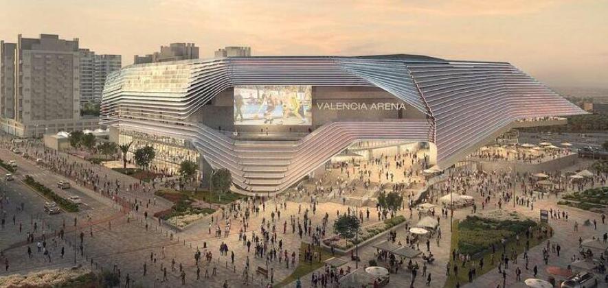 Valencia Arena is a new Arena stadium in Valencia