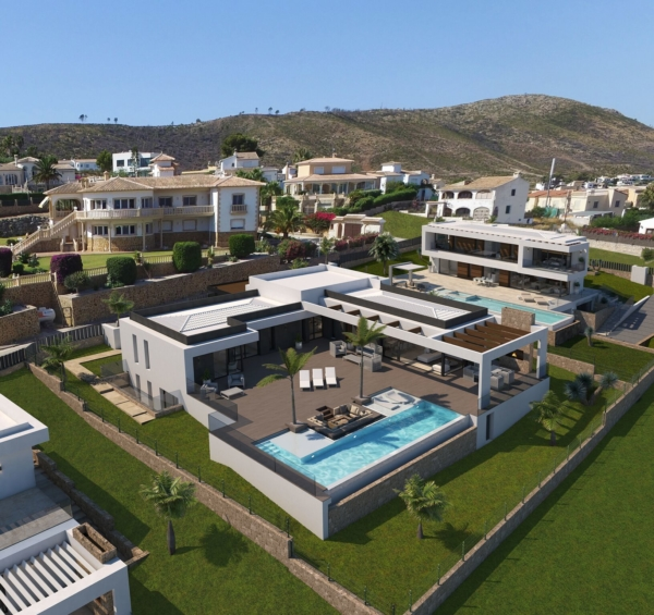 Modern villas in Javea spain