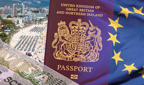 United Kingdom Great Britain Passport